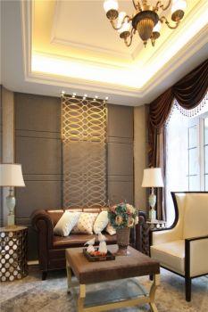 大户型四居室现代欧式家居效果图案例