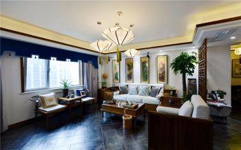 尚乐城120平三居室简中风格装修效果图