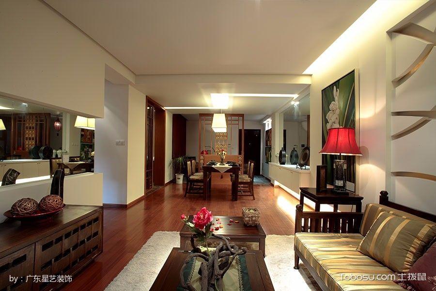 客厅_鑫谷园简约中式风格都市家居设计效果图