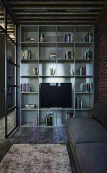 60平混搭风格舒适小户型公寓装修效果图