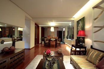 鑫谷园简约中式风格都市家居设计效果图