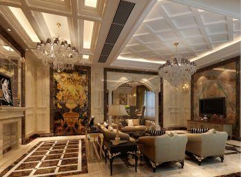 现代欧式风格大别墅设计效果图