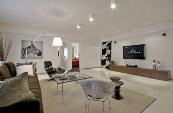 简单风格混合四居室装修效果图