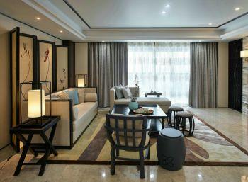 新中式风格三居室样板间设计