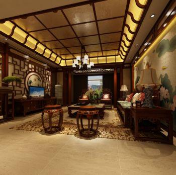 中式古典风格家庭套房装修效果图欣赏