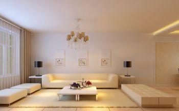 现代简约精致两居室设计样板间