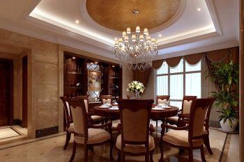 现代豪华美式风格别墅设计效果图