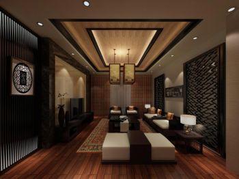碧桂园银河城中式风格设计装修效果图