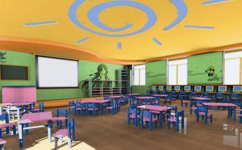 12万幼儿园室内装修效果图