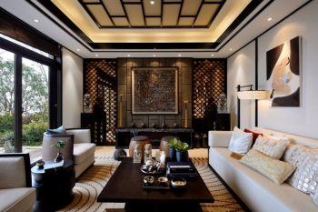 中式混搭风尚跃层家居装修效果图