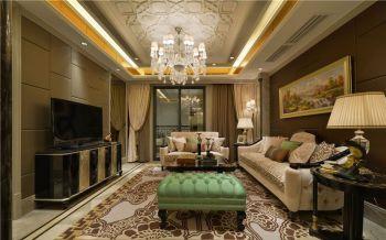 永和居易奢华新古典风格四居室装修图片