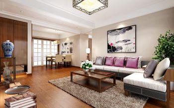 融侨观邸150平现代中式风格设计效果图