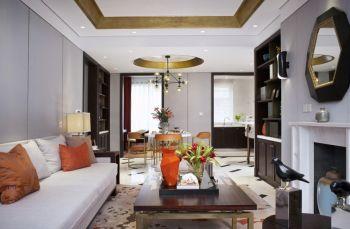现代混搭式两居室设计效果图片