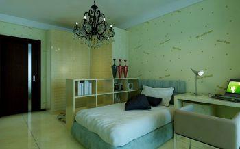 现代简约风格三居室效果设计图