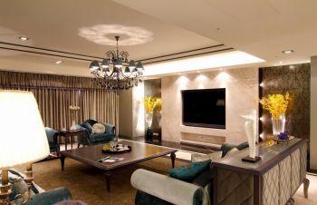 华润橡树湾三居室现代欧式风格装修图片