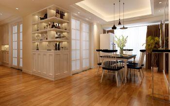 国贸天琴湾三室两厅一厨两卫现代简约风格装修效果图