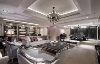 宝喜家园现代欧式风格四居室装修图