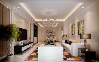 凯旋门三室两厅现代简约风格装修效果图