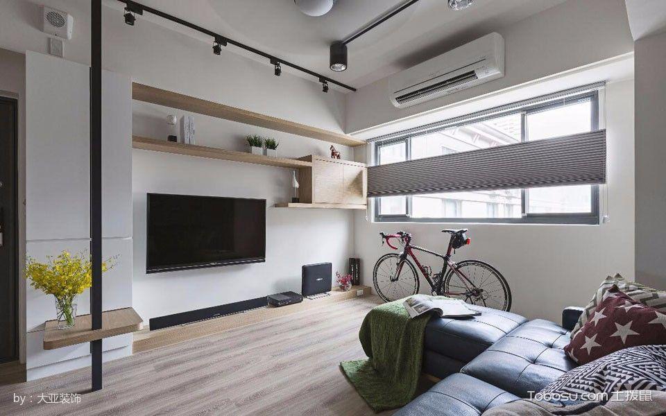 客厅 背景墙_简单风情小家装修效果图