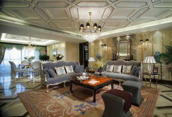 法式混搭新古典家居装修效果图