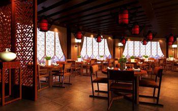 醉禅新中式餐厅装修效果图欣赏