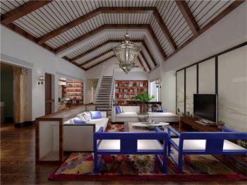 混搭风格别墅设计案例效果图