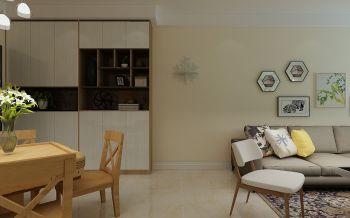 客厅白色走廊田园风格装饰图片