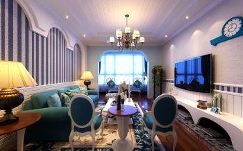 绵阳地中海式两居室设计案例