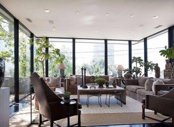 欧式混搭风格四居室阳光家居设计