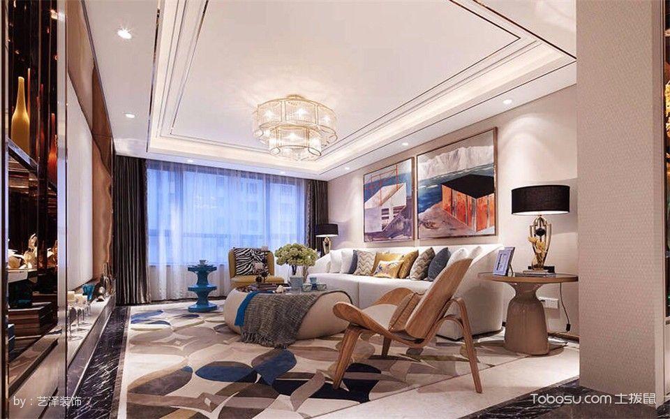 后现代混搭古典165平米3室2厅装修效果图