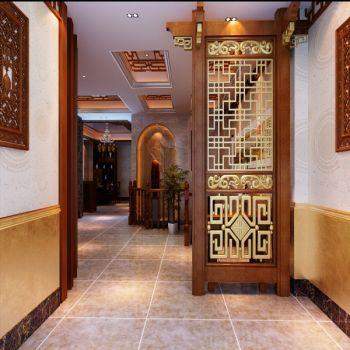 五四中式餐厅装修效果图