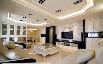 2019现代欧式110平米装修图片 2019现代欧式三居室装修设计图片