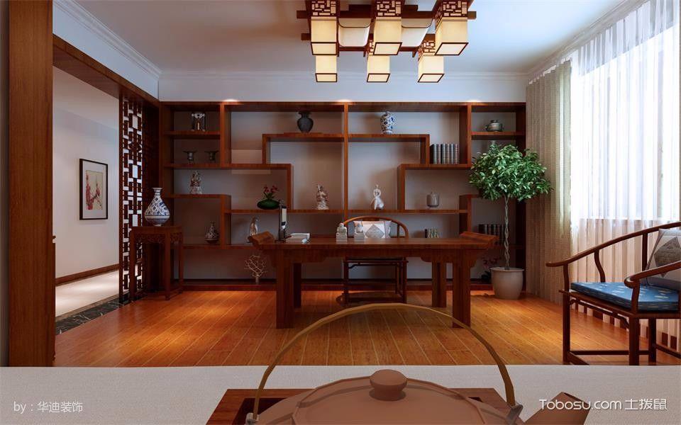 中式风格3房1厅1厨170平米装修效果图