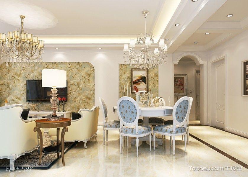 现代欧式风格100平米房屋装修效果图