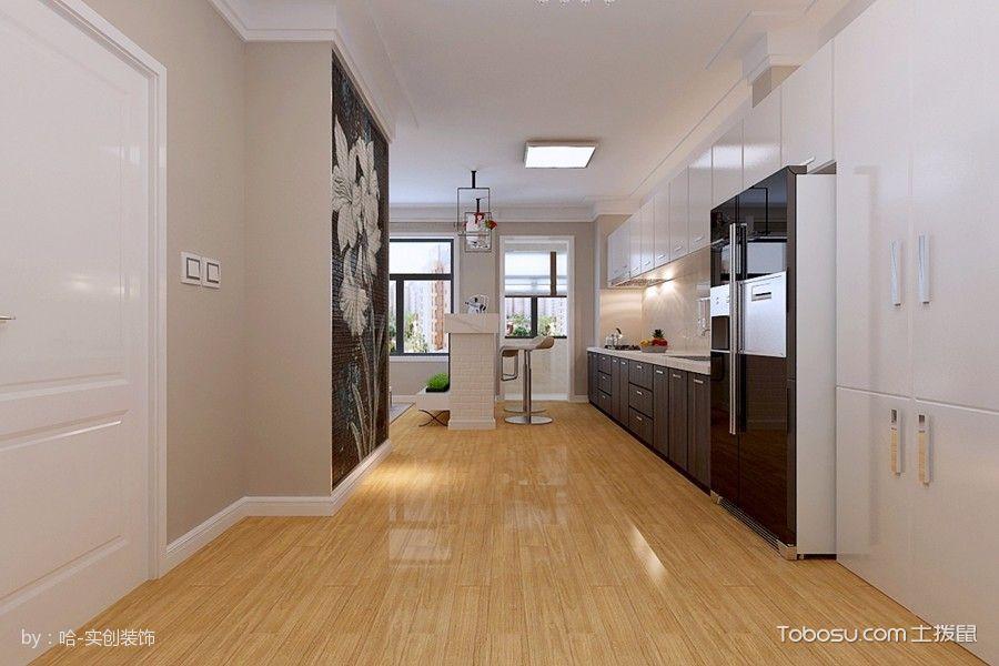 卧室黄色走廊现代简约风格装饰图片