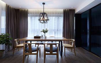 126平米简中两房两厅大户型室内装修效果图