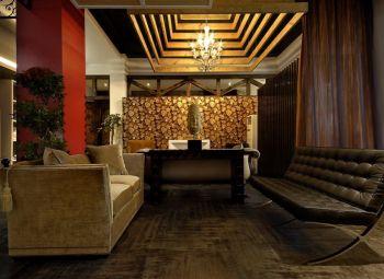 混搭风格122平米新房装修设计图