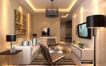 110平米三室现代简约风格装修效果图