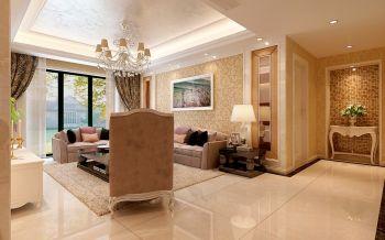 三室两厅简欧式风格177平米室内装修效果图