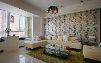 现代简约4房1厅简单装修效果图
