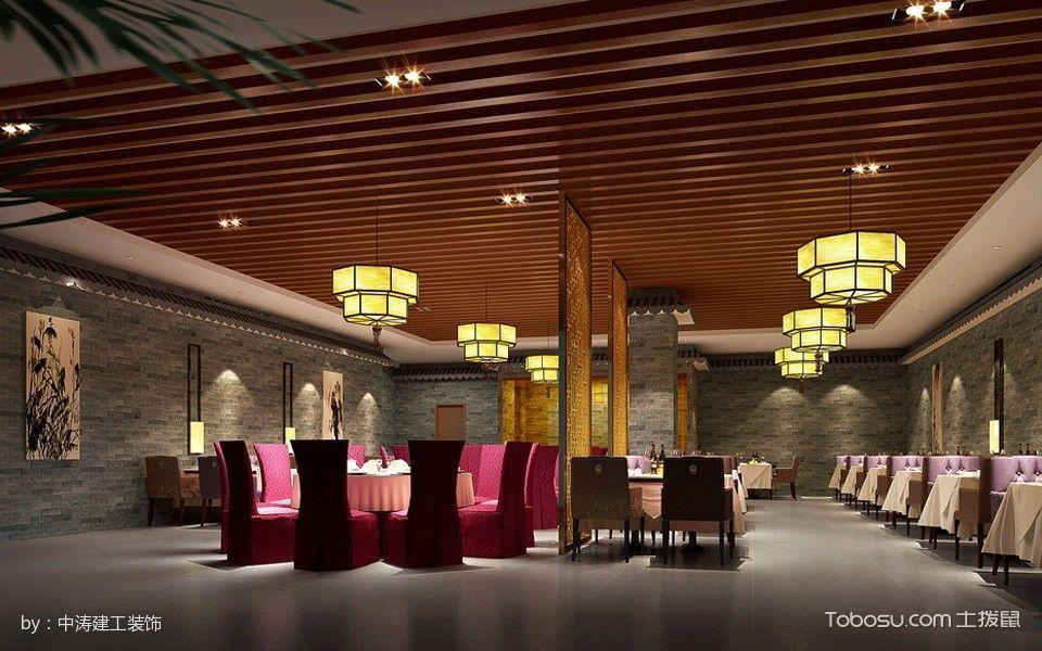 大型饭店宴客厅装修图片