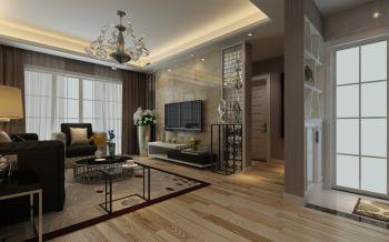 【4万】现代简约风格三室两厅装修效果图