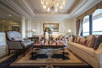 【11万】法式风格115平米3房2厅装修效果图
