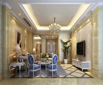 【7.5万】欧式风格四室二厅一卫装修效果图