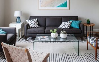 【13万】英伦联邦简单风格100平米套房装修效果图