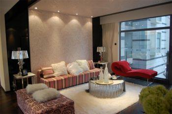 都市简约古典风格97平米室内装修效果图