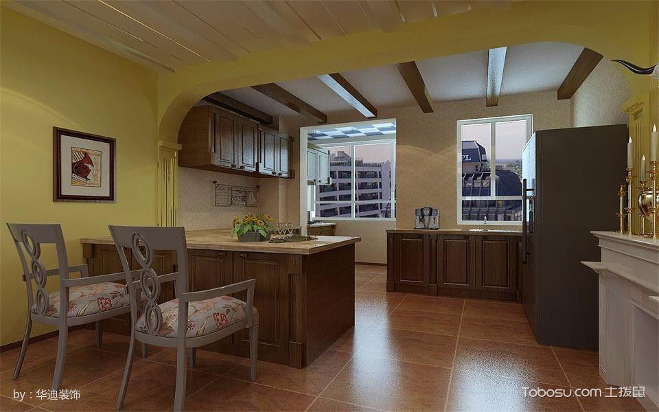 丁香水岸105平米美式混搭110平米3房2厅1厨1卫装修效果图