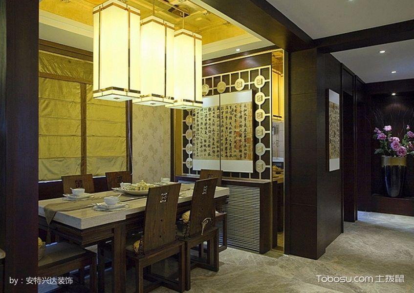 2019中式古典餐厅效果图 2019中式古典吊顶图片