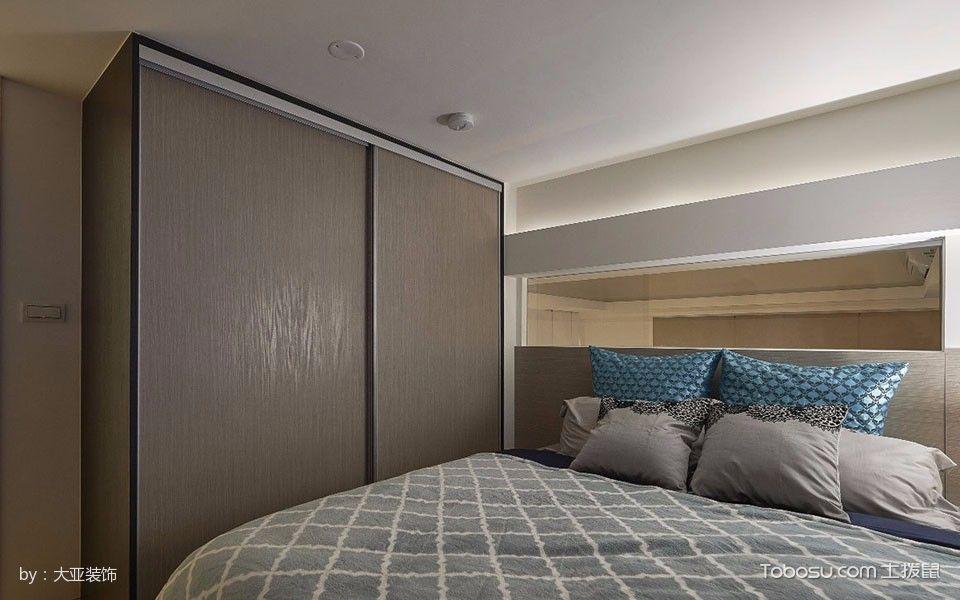 卧室白色床混搭风格装饰效果图