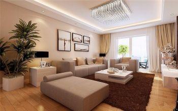 【8万】现代简约120平米三室两厅装修效果图
